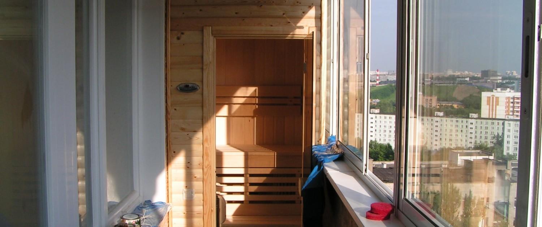 Сауна в квартире: фото мини-кабин.