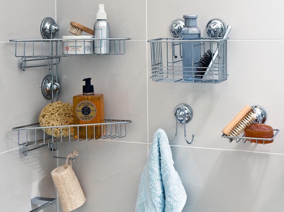 Полки для ванной из нержавеющей стали