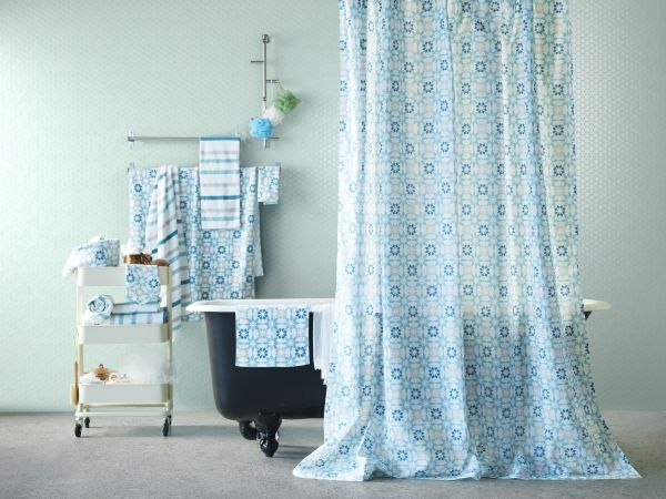 штора для ванной