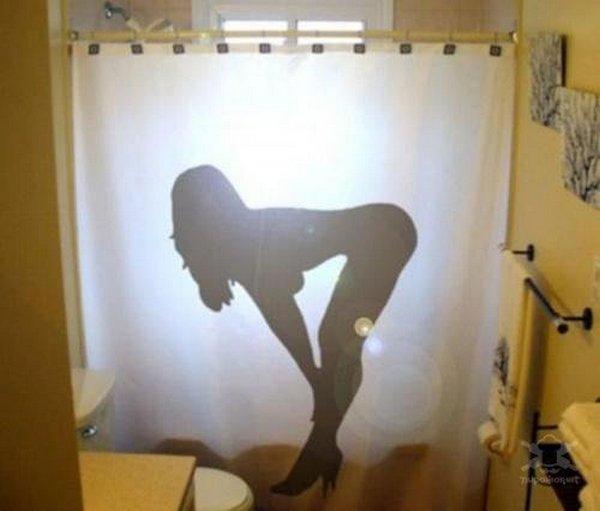 шторки для ванной