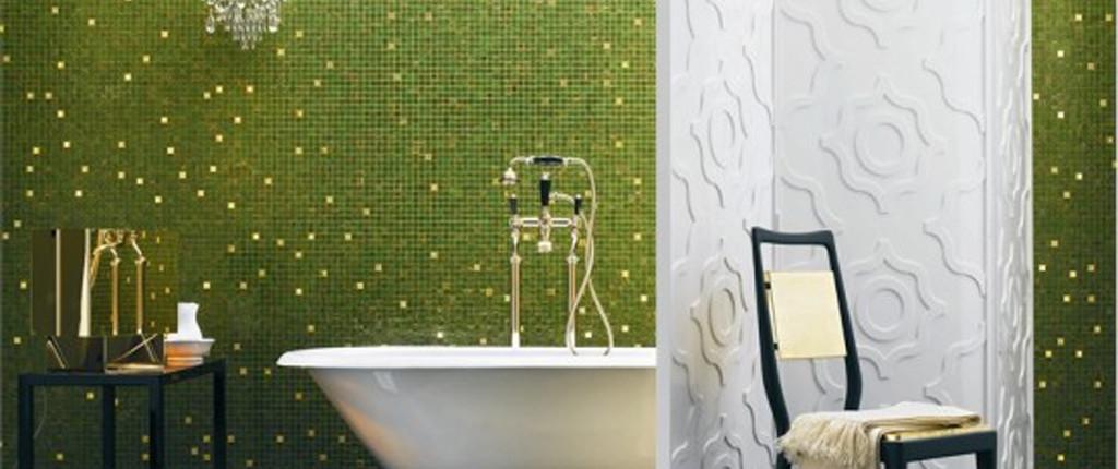 мозаика в ванно