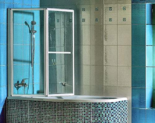 пластиковые шторки для ванной раздвижные