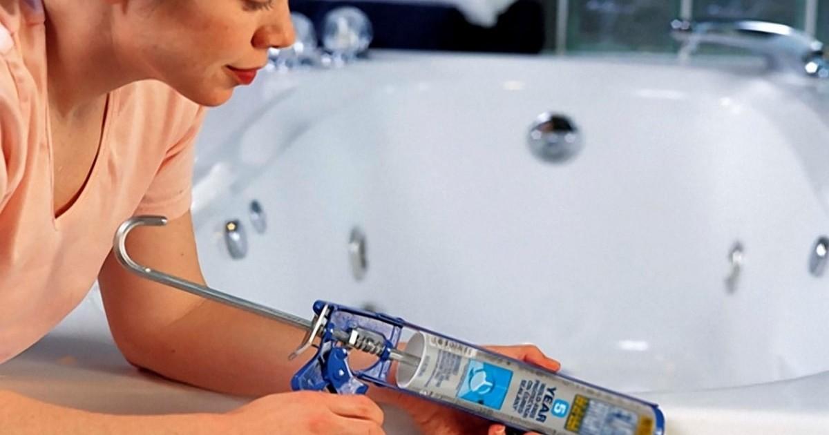 герметик для ванной