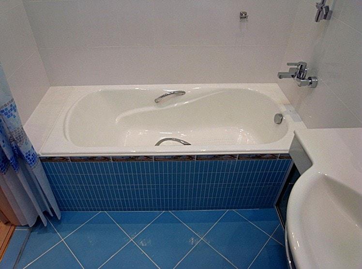 чугунные ванны размеры