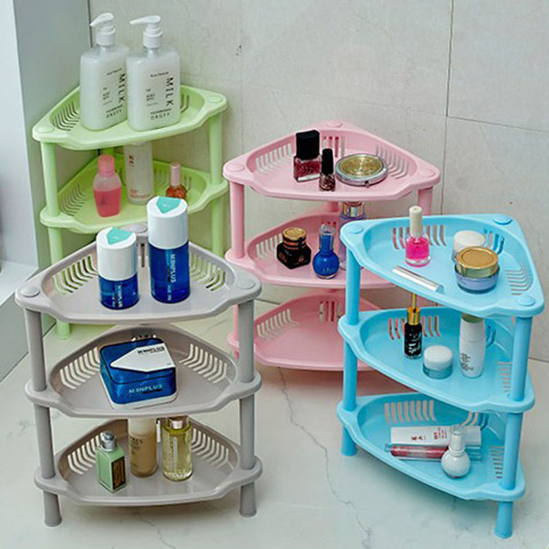 Bathroom organizer shelf