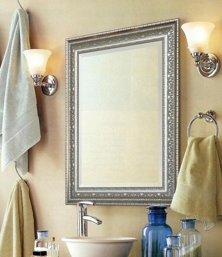подсветка зеркала в ванной комнате