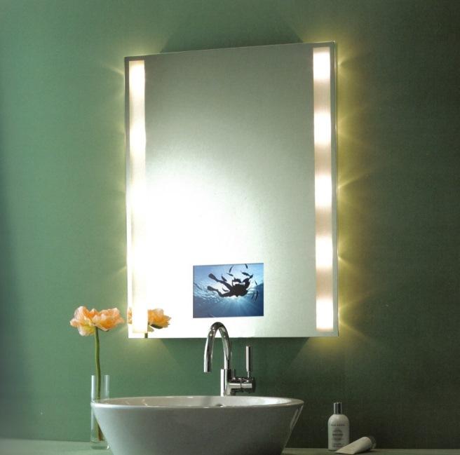 зеркала со светильниками в ванную
