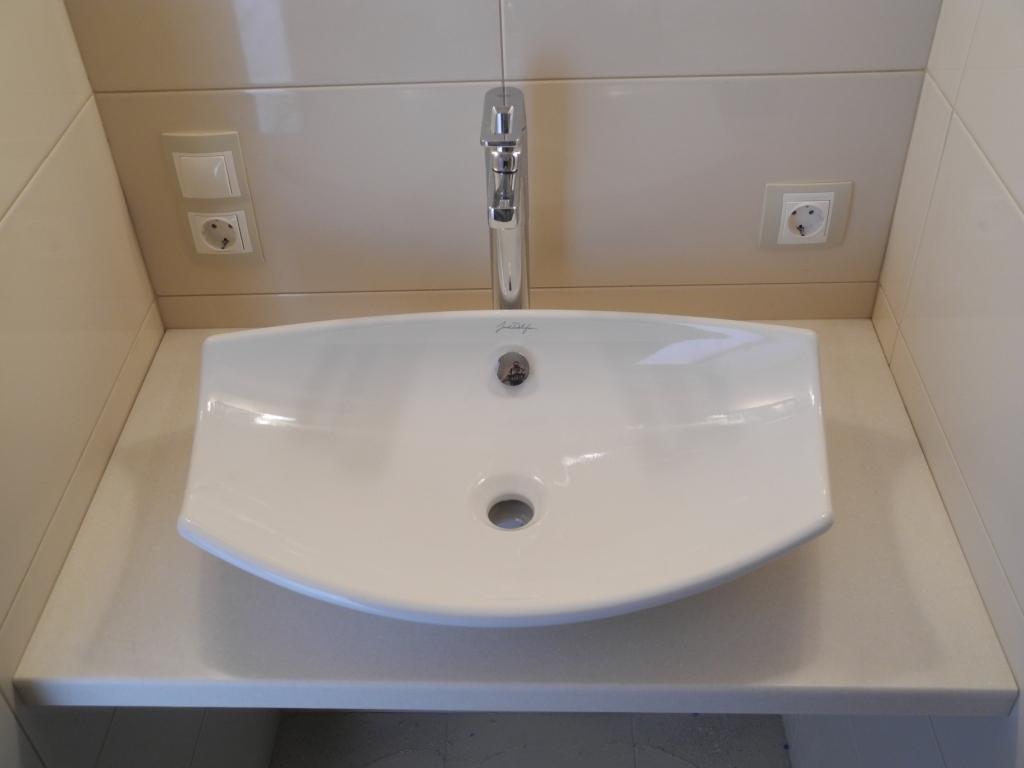 умывальник на столешницу в ванную комнату