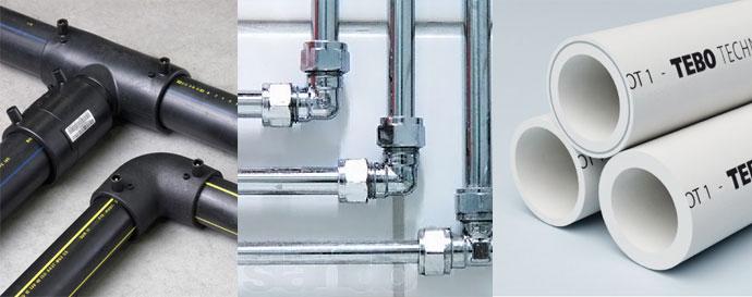 Выбираем лучшие трубы для водоснабжения (внутренний водопровод)