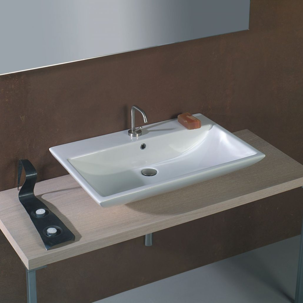 раковина в ванную на столешницу