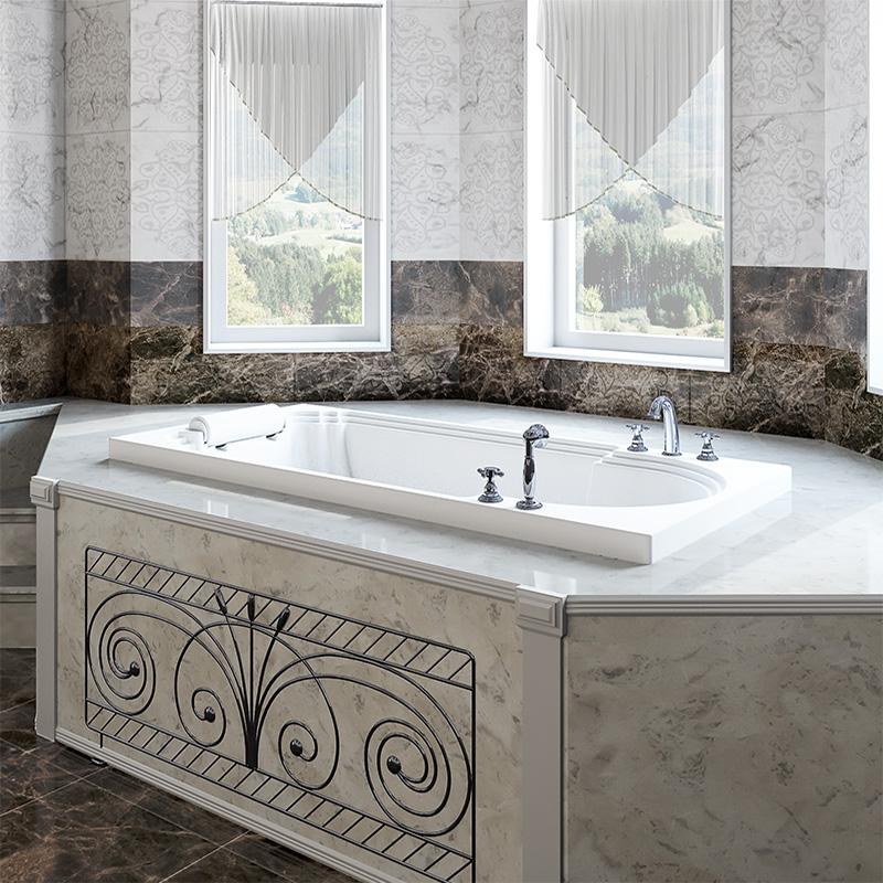 Акриловая ванна «Анабель» встраиваемая