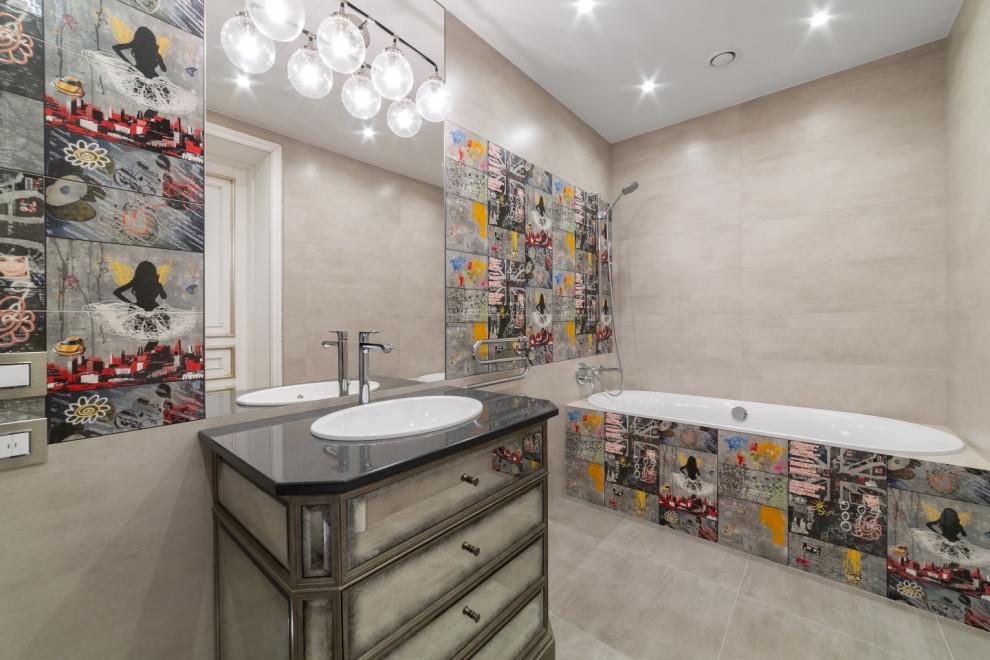 Ванная комната в современном стиле в Москве