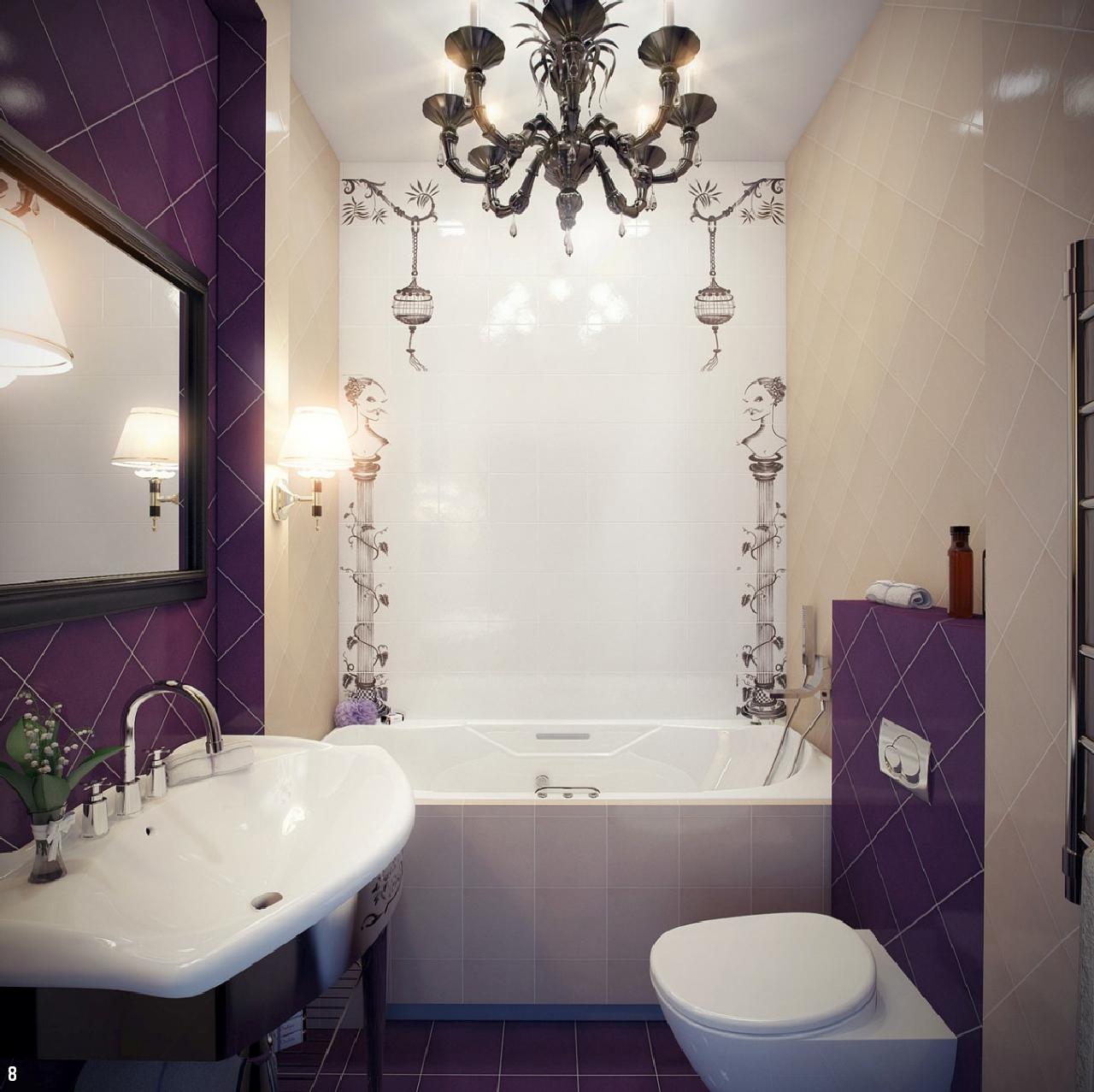 Специальное освещение в ванной комнате