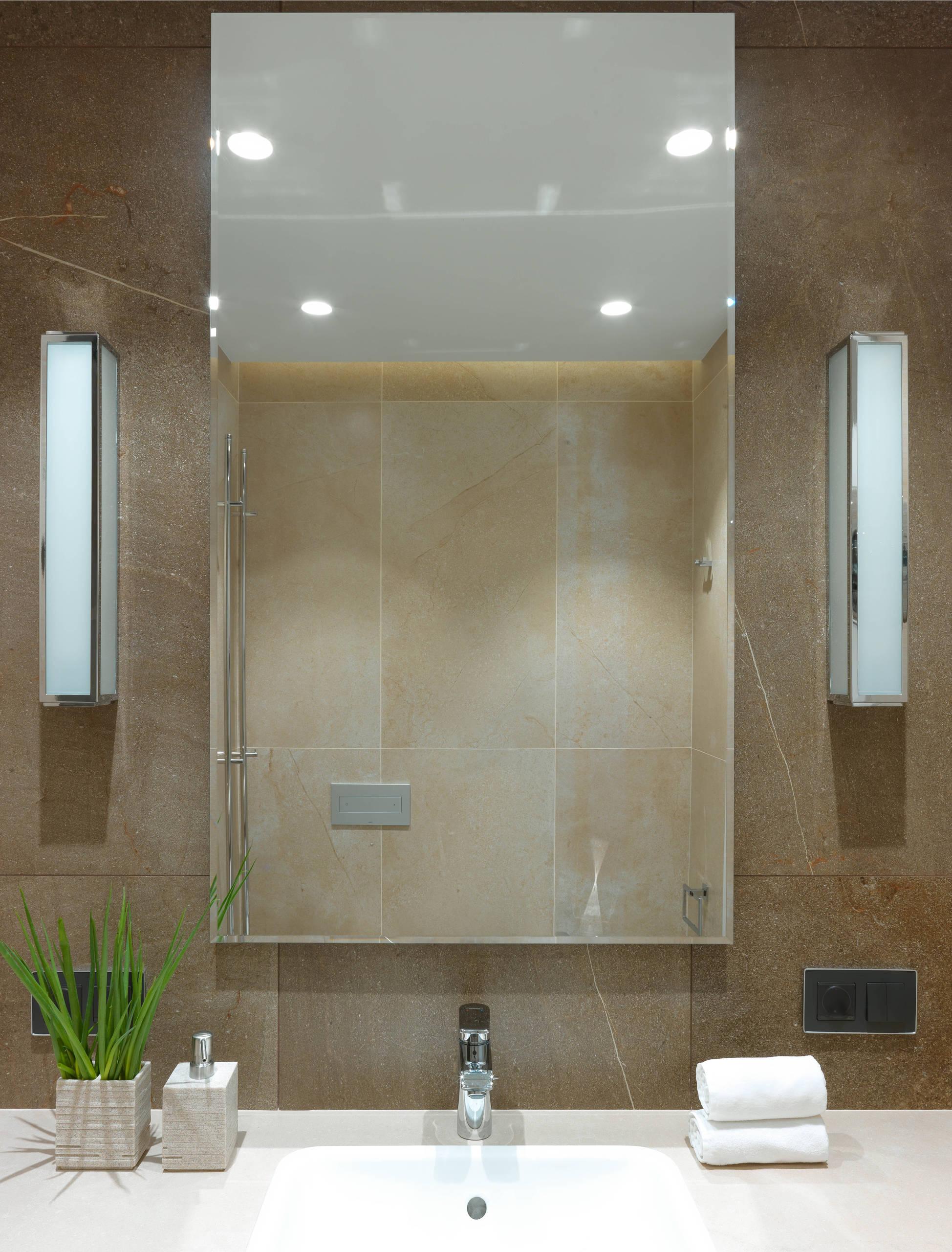Ванная комната в квартире в жилом комплексе «Рублевские огни»